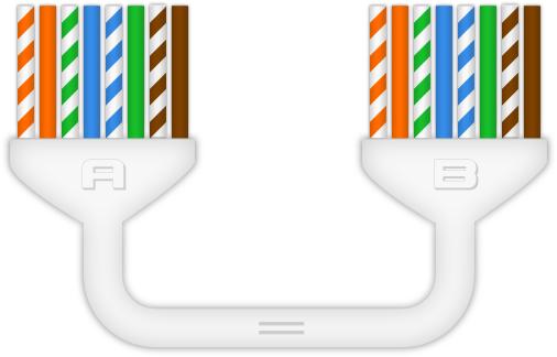 Câble Ethernet RJ45 Droit (straight)