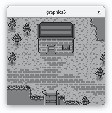 Capture d'écran de l'exemple une fois lancé dans un émilateur
