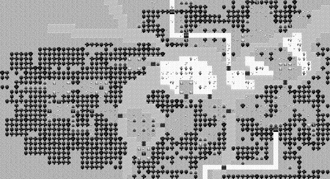 Carte du monde d'Evoland.gb