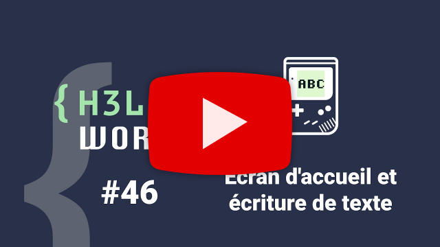 Hello World 46 sur Youtube